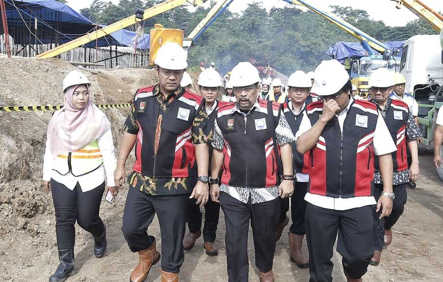 Melebihi Target, Pembangunan SPAM di Semarang Barat Lancar