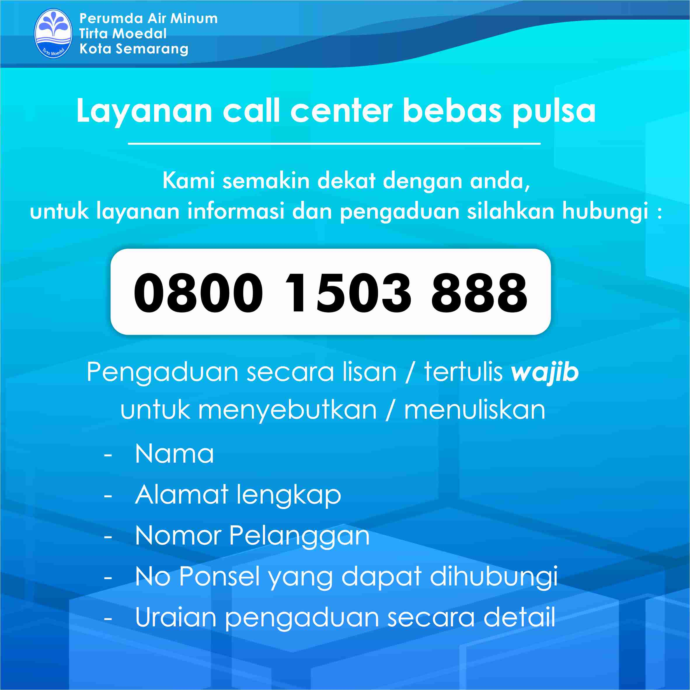 Call Center Bebas Pulsa